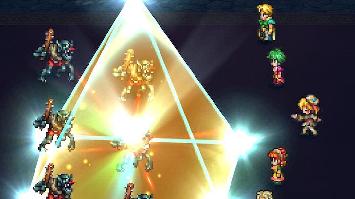 【ロマサガRS】水晶のピラミッドは突最強技?BP効率も良く即死付き!